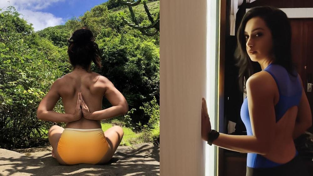 टीवी ऐक्ट्रेस एबिगेल पांडे ने शेयर की टॉपलेस योगा फोटो तो ट्रोल करने की बजाए लोग करने लगे वाहवाही