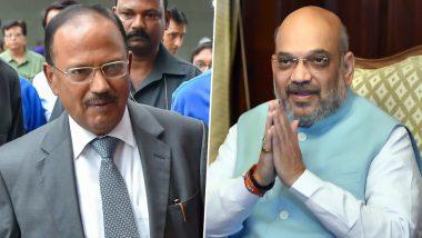 जम्मू कश्मीर के हालात पर गृह मंत्री अमित शाह की बैठक, घाटी से लौटे NSA अजित डोभाल भी हुए शामिल