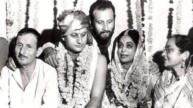 अनुपम खेर ने शादी की सालगिरह पर पत्नी किरण खेर के लिए लिखा ये खूबसूरत लव नोट