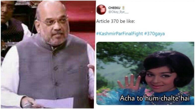 धारा 370 निरस्त होने के बाद ट्विटर पर ट्रेंड हुआ #370Gaya, पीएम मोदी और अमित शाह की हो रही है प्रशंसा