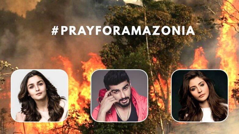 Amazon के जंगलों में लगी आग देख परेशान हुए बॉलीवुड सितारें, कहा- धरती का फेफड़ा जल रहा है