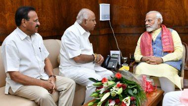 कर्नाटक में बाढ़ से भारी तबाही, पीएम मोदी से मिले सीएम येदियुरप्पा, मांगी 10,000 करोड़ की सहायता