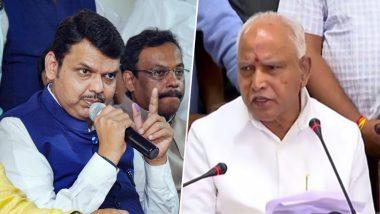 बीएस येदियुरप्पा ने सीएम फडणवीस से कहा-कर्नाटक अलमाटी बांध से छोड़ेगा 5 लाख क्यूसेक पानी