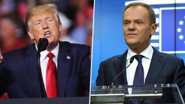 जी-7 समिट से पहले अमेरिका और यूरोपीय संघ के नेताओं में जुबानी भिड़ंत, ट्रेड वार की दी धमकी