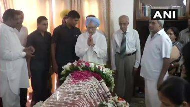 पूर्व प्रधानमंत्री मनमोहन सिंह ने सुषमा स्वराज के निधन पर शोक जताते हुए कहा- असाघारण रूप से प्रतिभावान महिला थीं