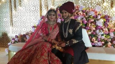 पाकिस्तानी खिलाड़ी हसन अली ने दुबई में भारतीय लड़की शामिया आरजू से की शादी, देखें खुबसूरत तस्वीरें