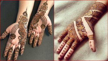 Eid-e-Milad un Nabi 2020 Mehndi Designs: ईद के मौके पर अपने हाथों पर रचाएं सुंदर मेहंदी, देखें Video Tutorial