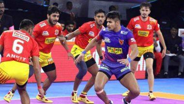Pro Kabaddi League 2019: गुजरात फार्च्यूनजाएंट्स ने दबंग दिल्ली को 31-26 से हराया