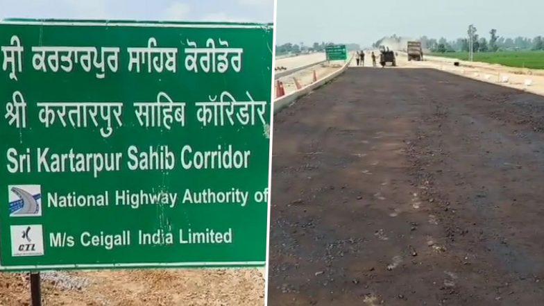 करतारपुर कॉरिडोर 9 नवंबर से भारतीय सिख श्रद्धालुओं के लिए खोल दिया जाएगा: पाकिस्तानी अधिकारी
