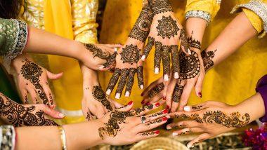 Hartalika Teej 2019 Mehndi Designs: मेहंदी के बिना अधूरा है हरतालिका तीज का त्योहार, जरूर ट्राई करें ये लेटेस्ट व आकर्षक डिजाइन (Watch Video & Photos)