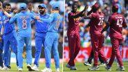 Live Cricket Streaming and Score India vs West Indies 1st ODI Match: भारत बनाम वेस्टइंडीज 2019 के पहले वनडे मैच को आप Star Sports पर देख सकते हैं लाइव