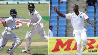 India vs West Indies 1st Test, Day 2: टीम इंडिया की पहली पारी 297 रन पर सिमटी, रवींद्र जडेजा ने जमाया अर्धशतक