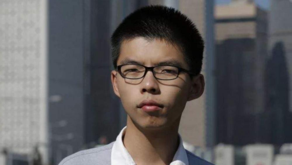 हांगकांग में प्रमुख लोकतंत्र समर्थक कार्यकर्ता जोशुआ वांग हुए गिरफ्तार