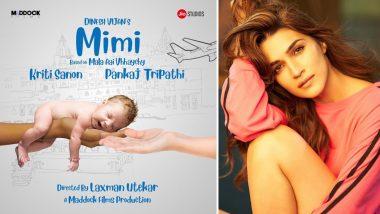 Mimi First Look: सरोगेसी पर आधारित फिल्म में नजर आएंगी कृति सेनन, पहला पोस्टर हुआ रिलीज