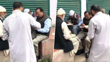 अजीत डोभाल ने जम्मू कश्मीर के शोपियां में स्थानीय लोगों के साथ खाया खाना, कहा- इंशाअल्लाह सब अच्छा रहेगा, देखें Video