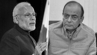 पीएम मोदी से अरुण जेटली की पत्नी-बेटे ने की विदेश दौरा रद्द नहीं करने की अपील, राजनाथ सिंह ने प्रधानमंत्री की ओर से दी श्रद्धांजलि
