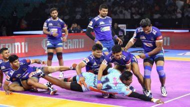 Pro Kabaddi 2019: हरियाणा स्टीलर्स ने बंगाल वॉरियर्स को 36-33 से हराया