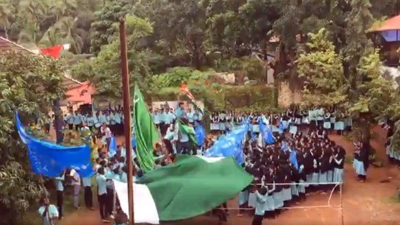 केरल: कॉलेज परिसर में छात्रों ने फहराया पाकिस्तान का झंडा, 30 से ज्यादा के खिलाफ केस दर्ज, देखें वीडियो