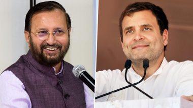 केंद्रीय मंत्री प्रकाश जावड़ेकर ने राहुल गांधी पर बोला हमला, कहा- कश्मीर वाले बयान पर मांगे माफी