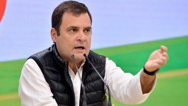 कांग्रेस नेता राहुल गांधी ने की फारूक अब्दुल्ला की हिरासत की निंदा, तत्काल रिहाई की मांग की