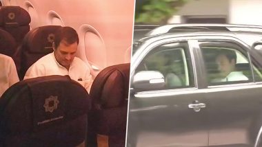 राहुल गांधी विपक्ष के 11 नेताओं के साथ श्रीनगर के लिए रवाना, डेलिगेशन को एयरपोर्ट छोड़ने की इजाजत नहीं, प्रशासन ने आने से किया मना