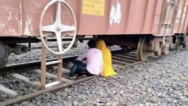 रेल मंत्रालय ने एक मजेदार फोटो शेयर करके यात्रियों को रेलवे ट्रैक पार न करने की दी चेतावनी, ट्विटर पर लगी रिएक्शन की झड़ी