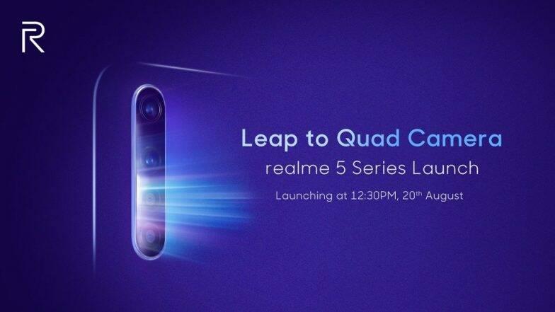 48MP कैमरा वाला Realme 5 सीरीज भारत में लॉन्च, जानें कीमत और खास फीचर्स
