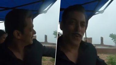 सलमान खान ने मूसलाधार बारिश के बीच शुरू की 'दबंग 3' की शूटिंग