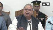 जम्मू-कश्मीर पुलिस देश के सबसे अच्छे पुलिस बलों में एक है: सत्यपाल मलिक