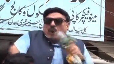 'कश्मीर ऑवर' में पीएम मोदी का नाम लेते ही इमरान खान के बड़बोले नेता शेख रशीद को लगा शॉक, देखें वीडियो