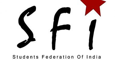 स्टूडेंट्स फेडरेशन ऑफ इंडिया ने बीजेपी समर्थित एबीवीपी पर डॉक्यूमेंट्री की स्क्रीनिंग में बाधा डालने और जातीय टिप्पणियां करने का लगाया आरोप
