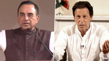 सुब्रमण्यम स्वामी ने इमरान खान को बताया Playboy, कहा- नवंबर में Pak सेना करेगी तख्तापलट