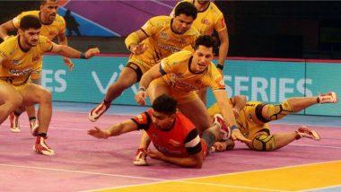 Pro Kabaddi League 2019: यूपी योद्धा के खिलाफ तेलुगू टाइटंस की गलती पड़ी महंगी, मैच हुआ ड्रा