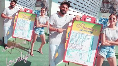 वेस्टइंडीज के साथ शुरू हो रहे ODI मुकाबले से पहले पत्नी अनुष्का शर्मा के साथ गुयाना में Meal एन्जॉय करते आए नजर विराट कोहली