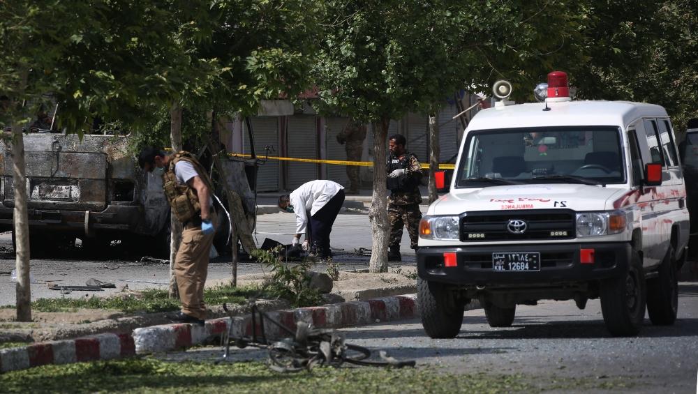 अफगानिस्तान की राजधानी काबुल में कार में  ब्लास्ट, 6 की मौत, कई जख्मी