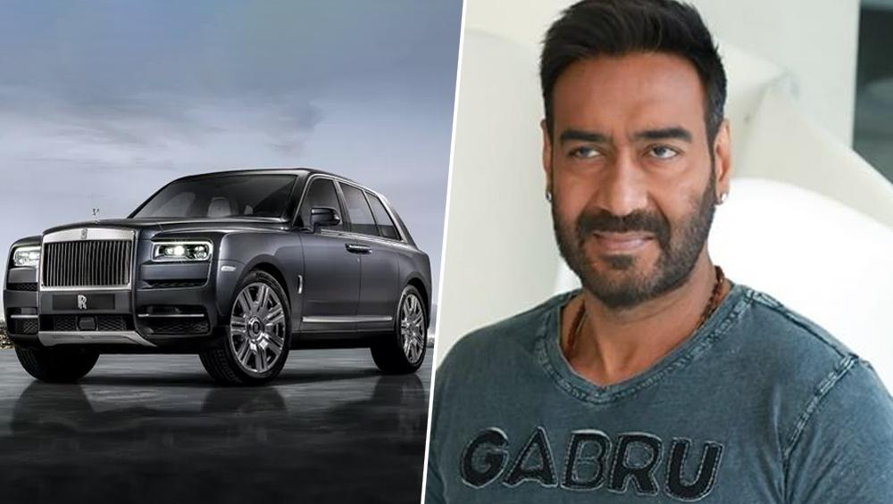 अजय देवगन ने खरीदी बेशकीमती SUV Rolls Royce Cullinan, कीमत जानकर उड़ जाएंगे आपके होश