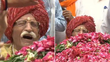 सुषमा स्वराज निधन: श्रद्धांजलि देते समय फूट-फूटकर रो पड़े MDH के मालिक  महाशय धर्मपाल गुलाटी