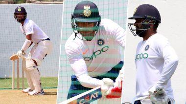 IND vs WI 2nd Test 2019: दूसरे टेस्ट मैच से पूर्व टीम इंडिया ने की कड़ी मेहनत, देखें तस्वीर