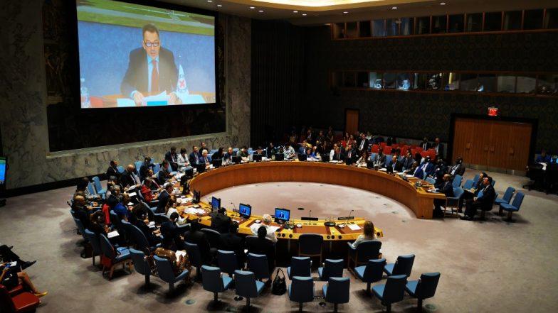 संयुक्त राष्ट्र सुरक्षा परिषद ने यमन में हुए संघर्षो पर जताई चिंता