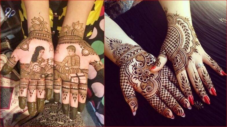 Raksha Bandhan 2019 Mehndi Designs: रक्षाबंधन के पर्व पर अपने हाथों में इन आसान तरीकों से बनाएं खूबसूरत मेहंदी डिजाइन, देखें तस्वीरें और वीडियो