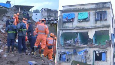 महाराष्ट्र: भिवंडी में चार मंजिला इमारत गिरी, दो लोगों की मौत, रेस्क्यू ऑपरेशन जारी