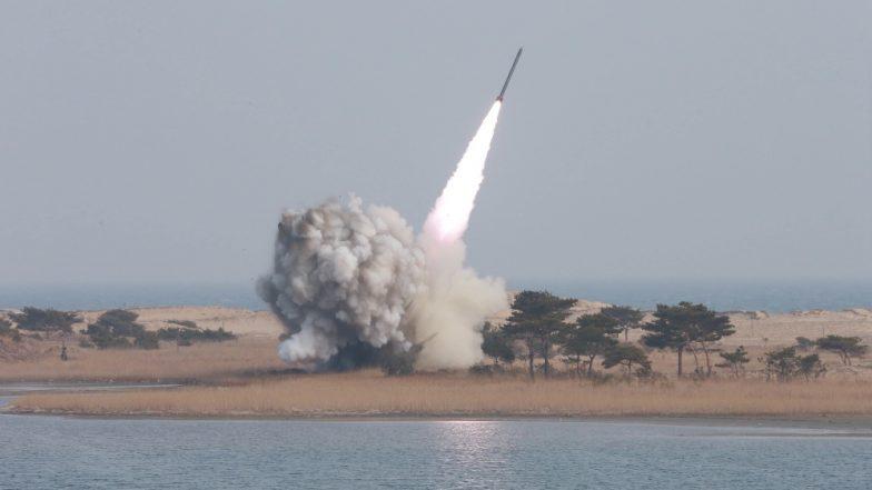 उत्तर कोरिया ने फिर जापान सागर में किया दो अज्ञात प्रक्षेपास्त्रों का परीक्षण