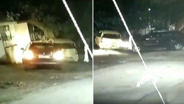 घर के सामने खड़ी कार को जानबूझकर महिला चालक ने बार-बार मारी जोरदार टक्कर, तमाशा देखते रहे लोग, देखें वीडियो