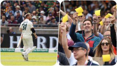 Ashes 2019: ऑस्ट्रेलियाई क्रिकेट इतिहास का शर्मनाक दिन, नेशनल एंथम के दौरान लोगों ने दिखाए सैंडपेपर