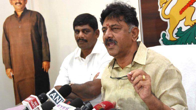 कांग्रेस नेता डीके शिवकुमार ने बीजेपी पर कसा तंज, कहा- मैं बदले की राजनीति का शिकार