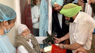 पंजाब के सीएम अमरिंदर सिंह ने पीएम मोदी को लिखा पत्र, हॉकी लीजेंड बलबीर सिंह सीनियर के लिए की भारत रत्न की मांग