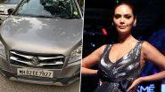 एक्ट्रेस ईशा गुप्ता की कार का हुआ एक्सीडेंट, मुंबई पुलिस से ट्विटर पर मांगी मदद