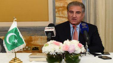 पाकिस्तान: विदेश मंत्री शाह महमूद कुरैशी ने कश्मीर पर पाकिस्तान के वैधानिक मामले को लेकर लिखा पत्र