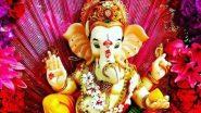 Sankashti Chaturthi 2019: इस संकष्टी चतुर्थी विघ्नहर्ता गणेश की ऐसे करें पूजा, होंगी सभी मनोकामनाएं पूरी, जानें महत्व, शुभ मुहूर्त और विधि