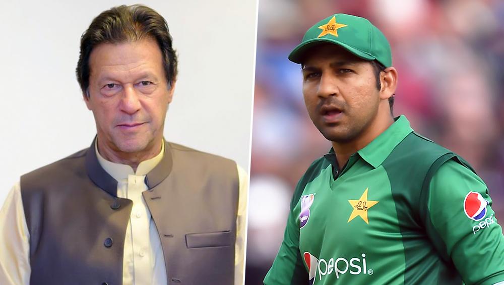 विश्व कप 2019 में भारत के खिलाफ पहले गेंदबाजी करने पर पाकिस्तान के पीएम इमरान खान ने सरफराज अहमद को किया ट्रोल, देखें वीडियो